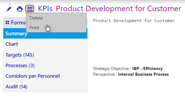 kpis/comidor low-code bpm platform