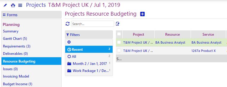 Project cost management/comidor low-code bpm platform