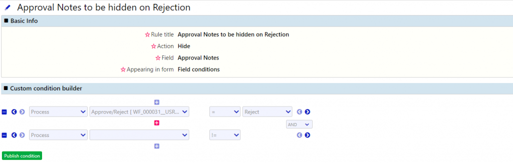 User Forms | Comidor Low-Code BPM Platform