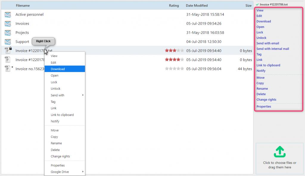 Files | Comidor Digital Automation Platform