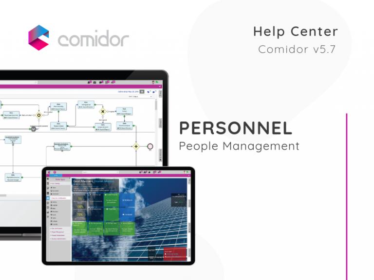 Personnel | People Management | Comidor Low-Code BPM