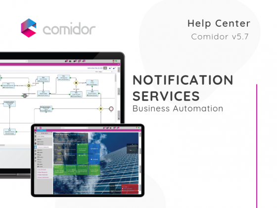 Notification Services | Comidor Low-Code BPM Platform