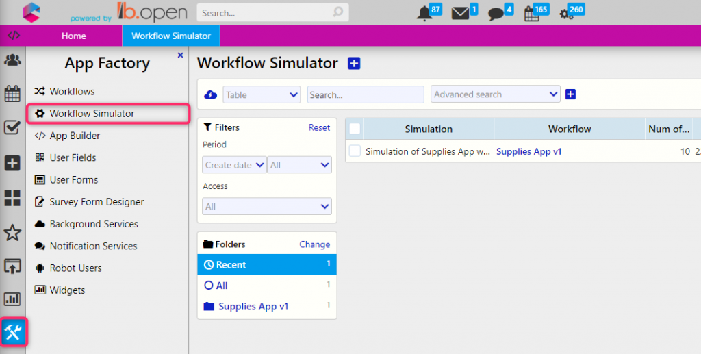Simulator | Digital Automation Platform