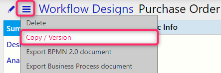copy workflow | Comidor Digital Automation Platform