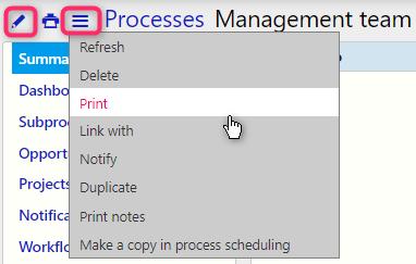 Manage process   Comidor Digital Automation Platform