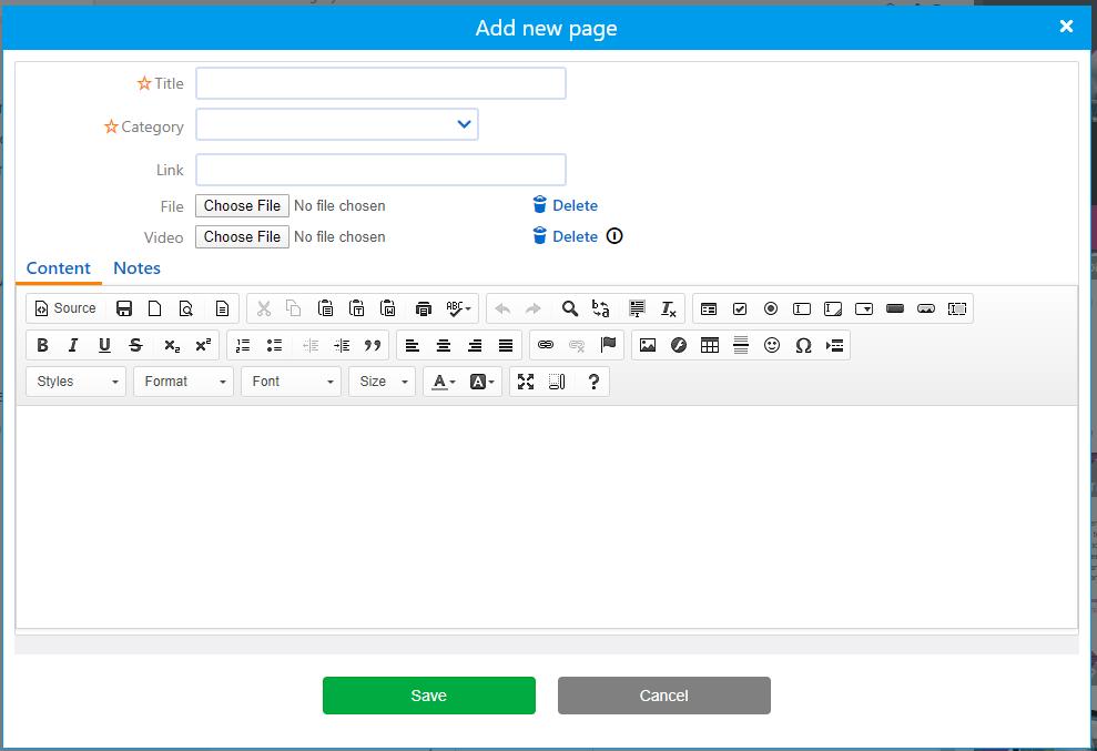 Wikis creation | Comidor Platform