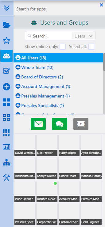Users and Groups | Comidor Platform