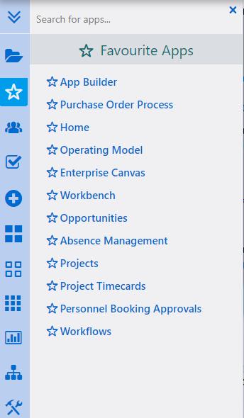 Favorite Apps | Comidor Platform