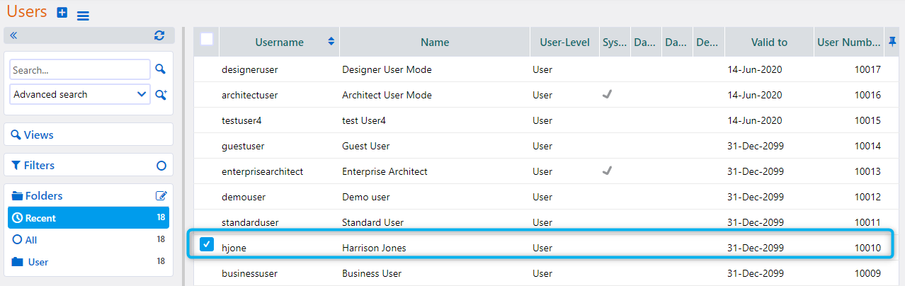 Users   Comidor Platform