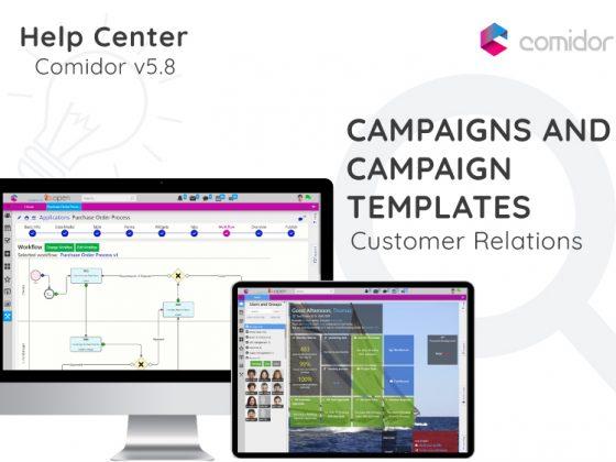 Campaigns and Campaign Templates | Comidor Digital Automation Platform