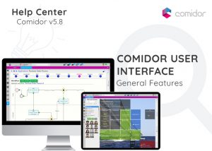 Comidor User Interface | Comidor Digital Automation Platform