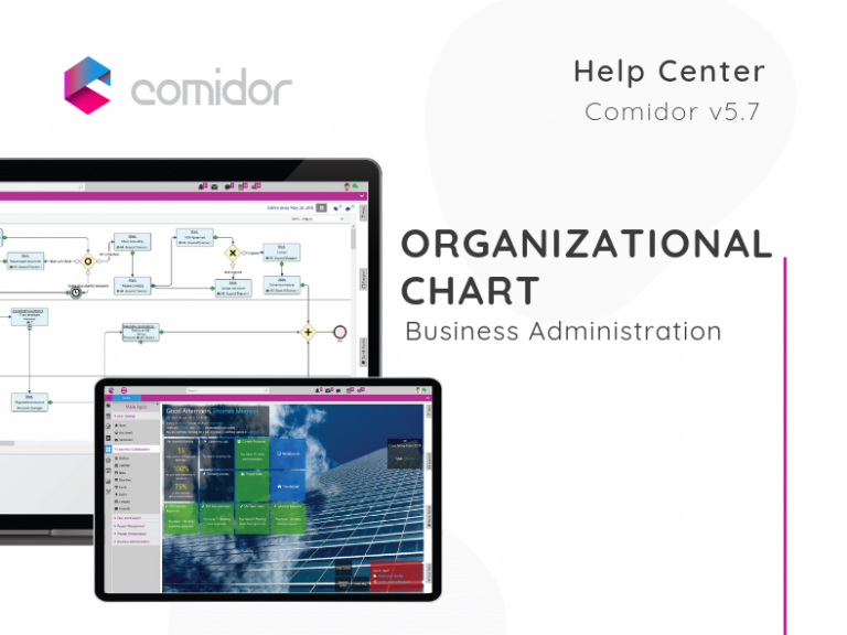 Organiazational Chart | Comidor Low-Code BPM Platform