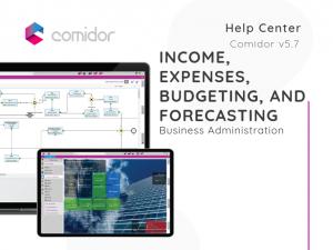 Income, Expenses, Budgeting and Forecasting | Comidor Low-Code BPM Platform