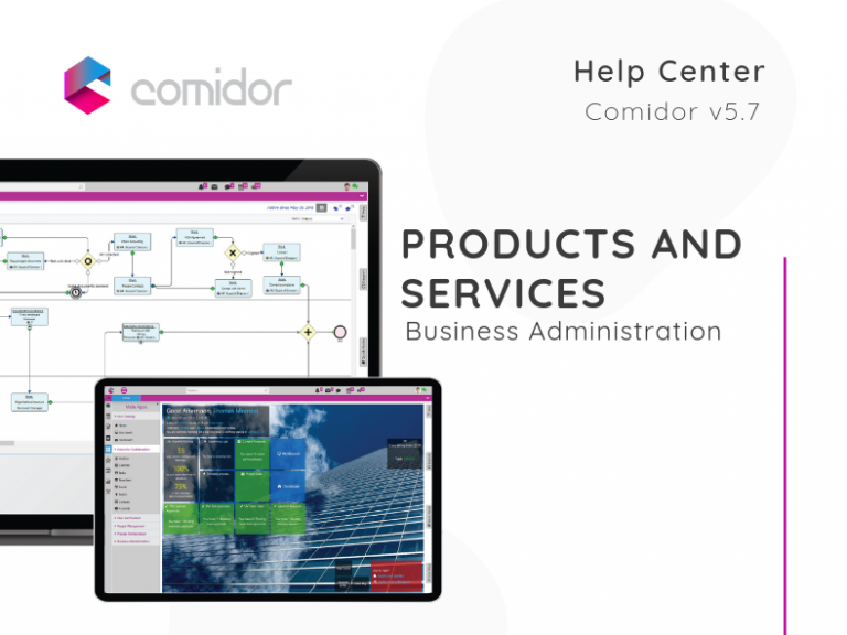Products and Services | Comidor Low-Code BPM Platform