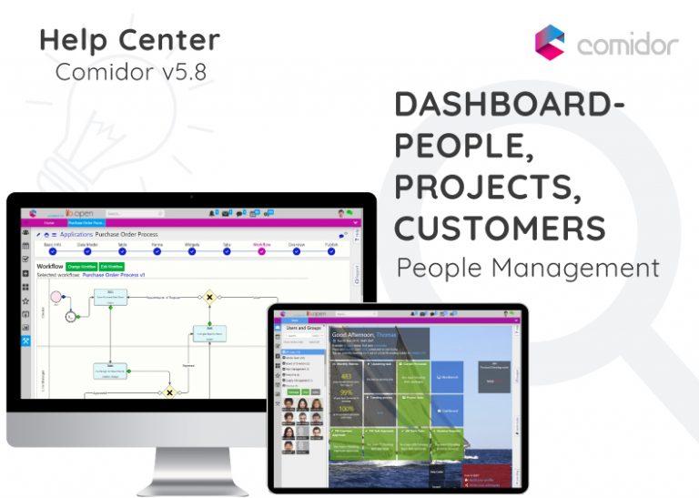 Dashboard- Comidor Digital Automation Platform