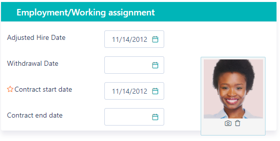 Employment working assignment - Personnel v.6| Comidor Platform