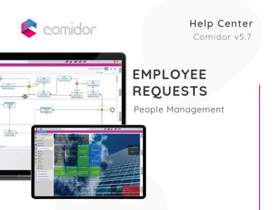 Employee Requests | Comidor low-code BPM