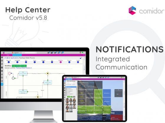 Notifications | Comidor Digital Automation Platform