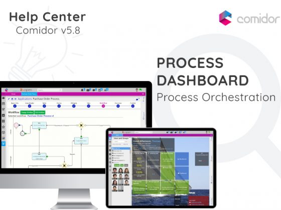 Process Dashboard   Comidor Digital Automation Platform
