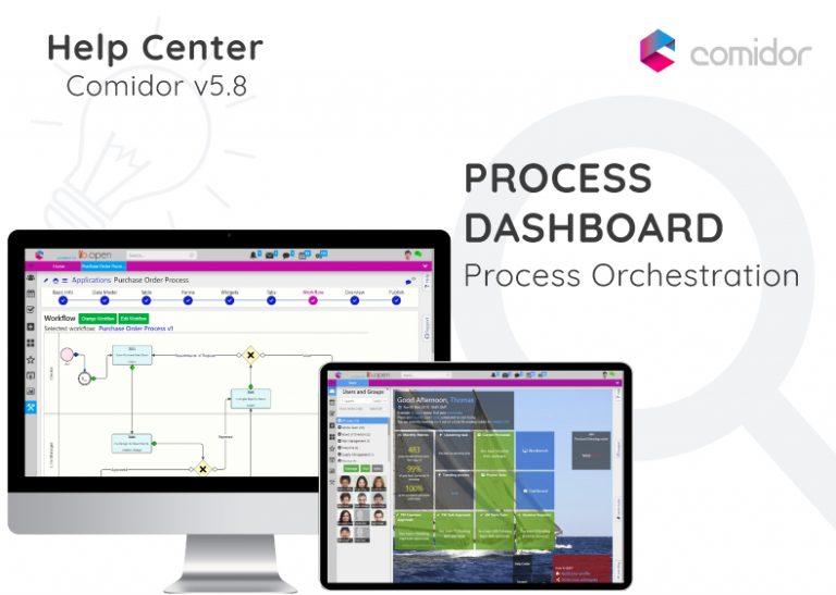 Process Dashboard | Comidor Digital Automation Platform