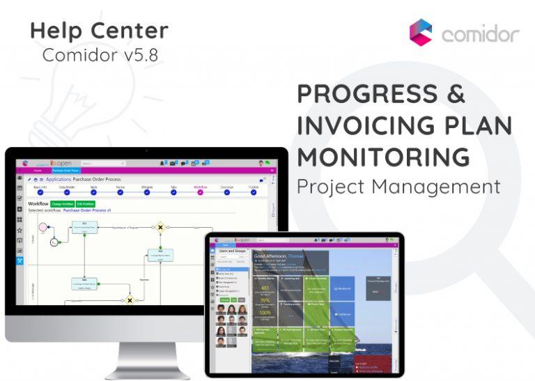 Progress and Invoicing Plan Monitoring | Comidor Digital Automation Platform