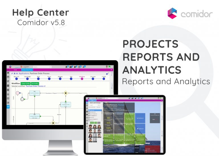 Projects Reports and Analytics | Comidor Digital Automation Platform