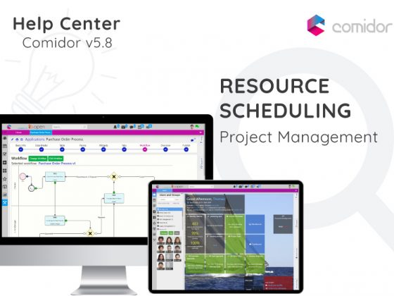Resource Scheduling | Comidor Digital Automation Platform