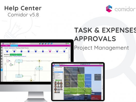 Task and Expenses Approvals | Comidor Digital Automation Platform