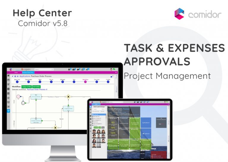 Task and Expenses Approvals   Comidor Digital Automation Platform