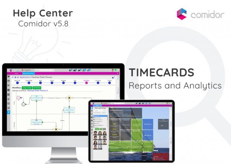 Timecards | Comidor Digital Automation Platform