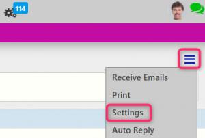 email settings | Comidor Digital Automation Platform