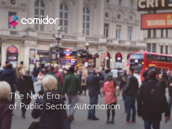 The New Era of Public Sector Automation | Comidor Low-Code BPM Platform
