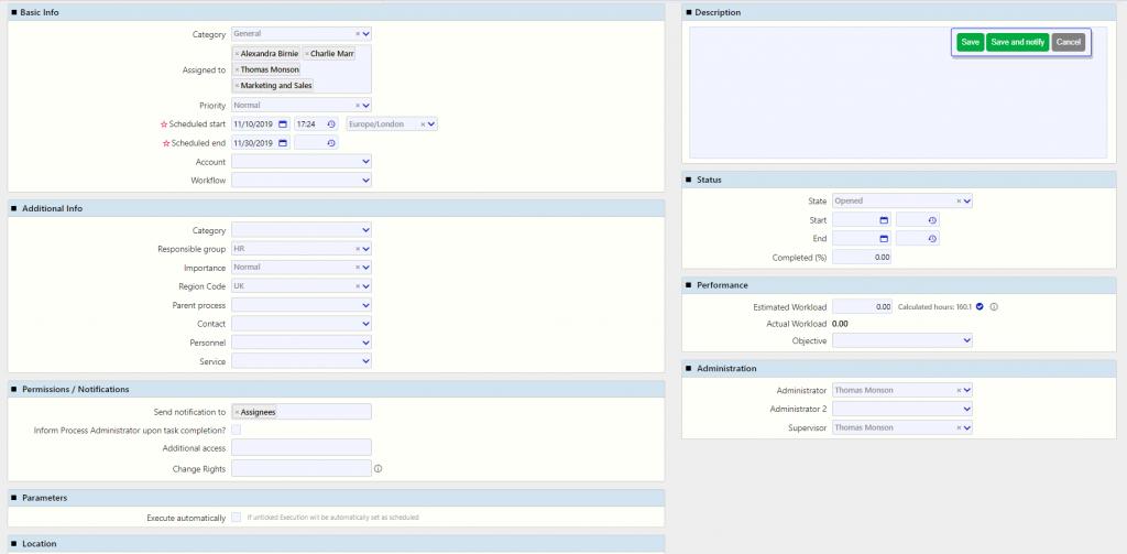 topic edit | Comidor Digital Automation Platform