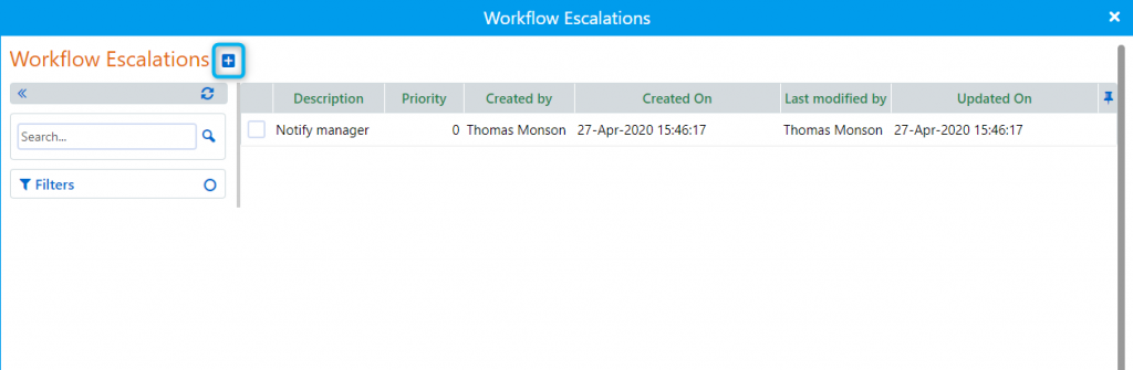 Workflow escalation| Comidor Platform