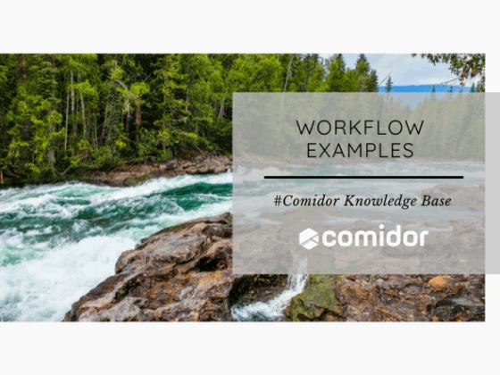 Workflow Examples - KB | Comidor Low-Code Platform