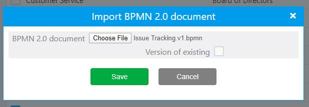 Workflow import | Comidor Platform