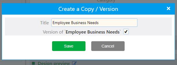 Workflow versions | Comidor Platform