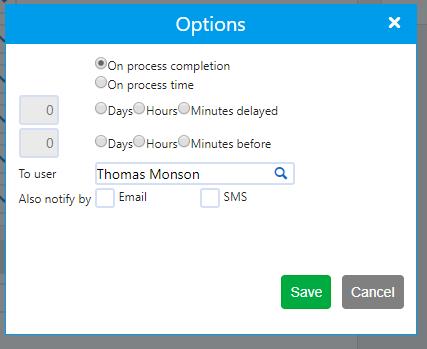 Create Process template | Comidor Platform