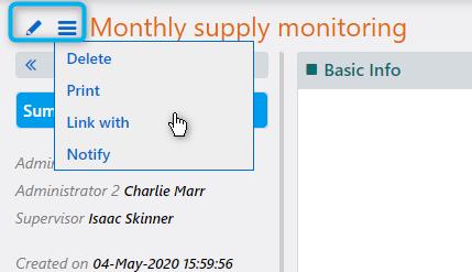 Process Scheduling view| Comidor Platform