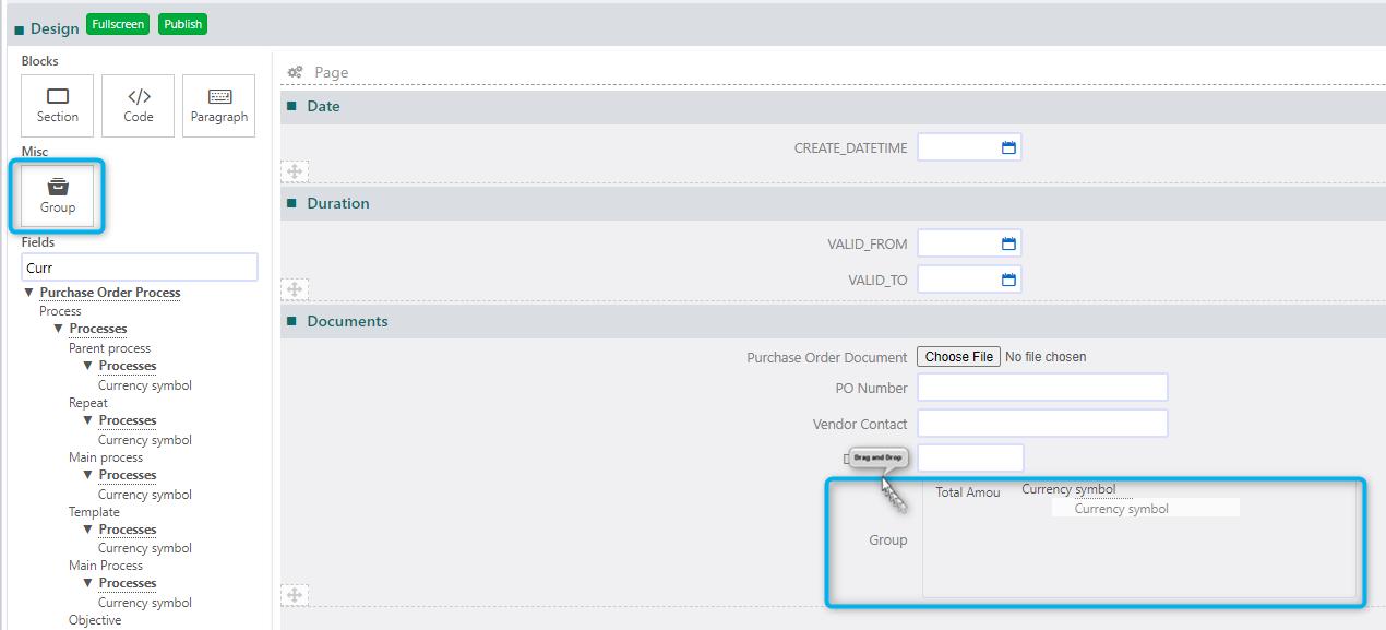 User Forms   Comidor Platform