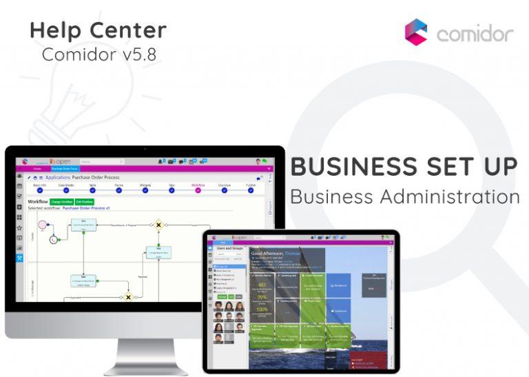 Business Set up | Comidor Digital Automation Platform