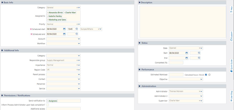 Basic Info Topics | Comidor Platform