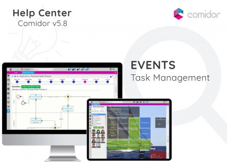 Events | Comidor Digital Automation Platform