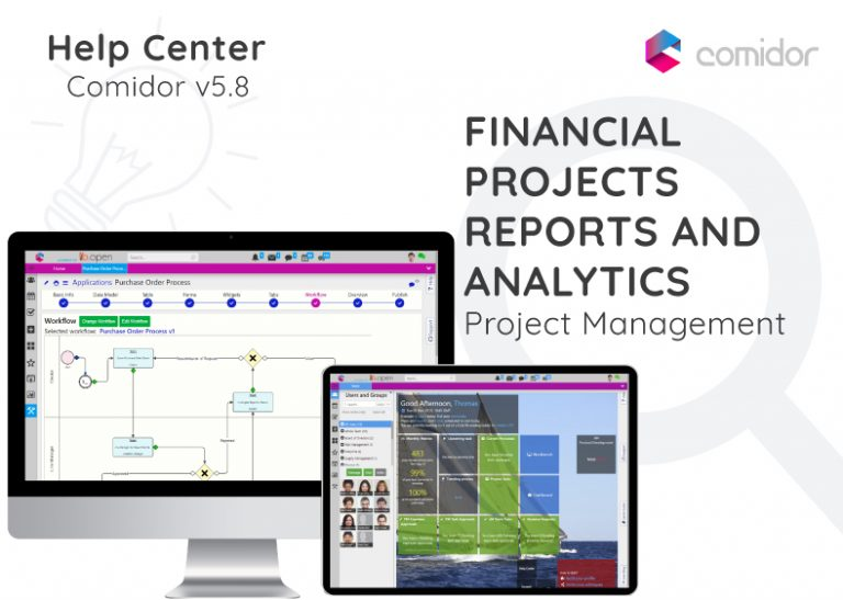 Financial Projects Reports and Analytics | Comidor