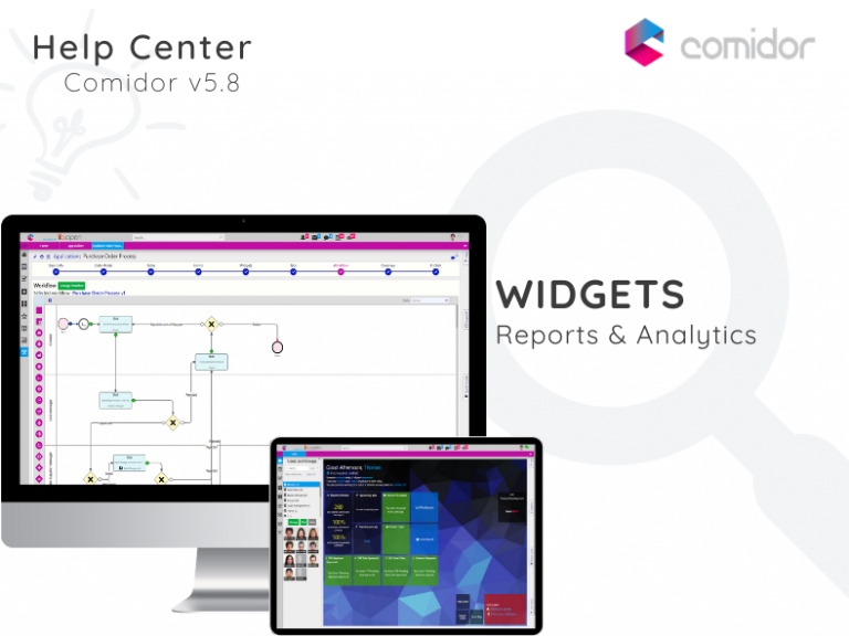 Widgets | Comidor low-code bpm