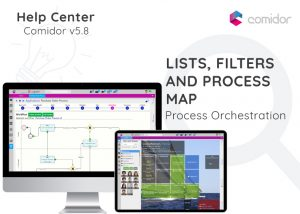 Lists Filters and Process Map | Comidor Digital Automation Platform