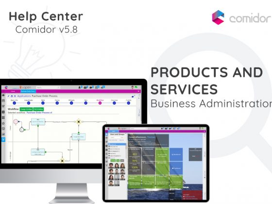 Products and Servises | Comidor Digital Automation Platform