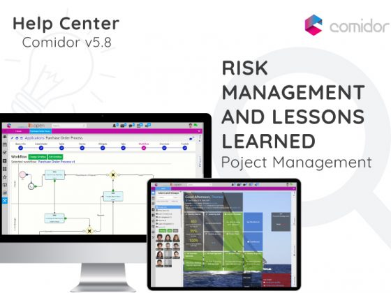 Risk Management and Lessons learned | Comidor Digital Automation Platform
