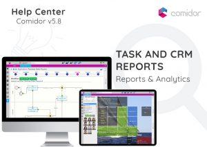 Task and CRM reports | Comidor Digital Automation Platform
