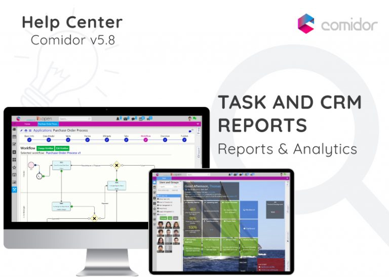Task and CRM reports | Comidor Digital Automation Platform